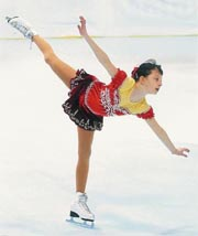 Figure skating / patinage artistique Vickie